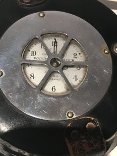 Lathem Watchman's Clock - Atlanta Georgia USA patented 1910