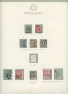 Kingdom of Italy 1863/1945 - Collection of ordinary post