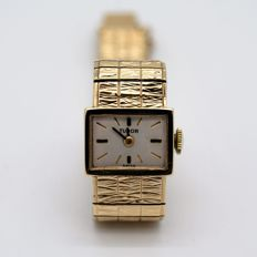 Tudor - 9ct Yellow Gold - Dress Watch - Manual - Vintage - 9ct Gold Solid Bracelet - Donna - 1960-1969