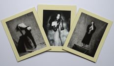Photo; Lot with 3 photolithographies with mate - 2010