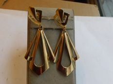 Earrings in 18 kt gold
