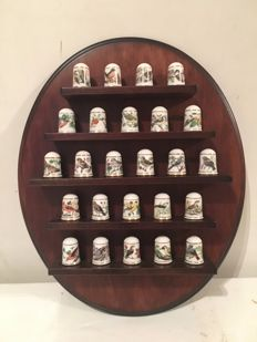 Complete set of thimbles, Franklin Mint