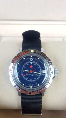 Vostok — Military Russian  Aviation Edition -1990's Men's Wristwatch  in mint condition