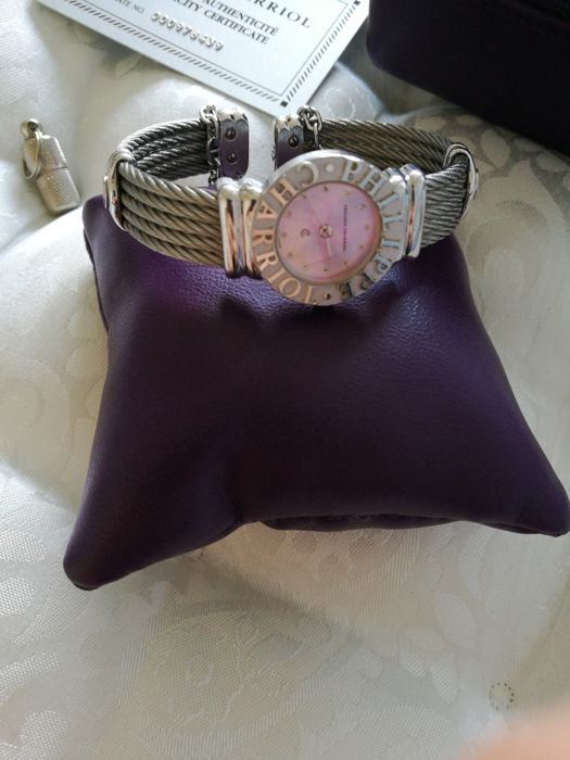 Philippe Charion St Tropez silver watch