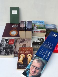 Gerrit Komrij; Lot with 11 of his books - 2003 / 2012