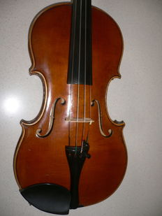 Very nice Bohemian violin from Alois Mach with assessment,about 1900