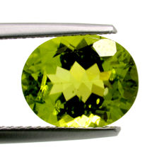 Peridot - 4.17 ct  No reserve price