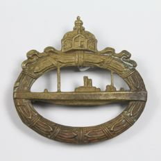 Badge for Crew Member of Submarines Prussia WWI