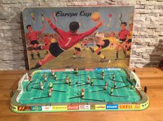 "Technofix, Western Germany - Length: 53 cm - ""Europa Cup"" GE305, tin soccer game, 60s"