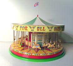 Corgi - Scale 1/50 - Toy, carousel horses of wood, goes with ´the Corgi Showmans Range'- Limited Edition of 6000