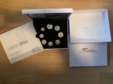 The Netherlands - Year set Euro coins 2016 'Mint Maker's Mark'