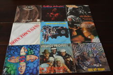 60 funky, soul singles of the 70's and 80's, records are in NM quality