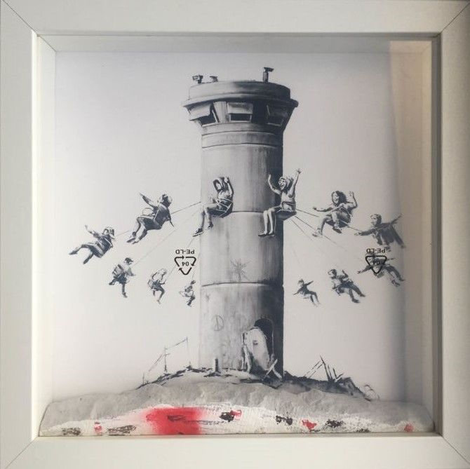Banksy - Walled Off Hotel - Box set & extras