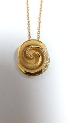 Annamaria Cammilli necklace - Florence in 18 kt rose gold, 44 cm