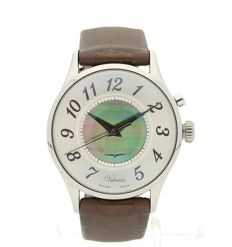 Vulcain Golden voice watch - cricket - mother of pearl