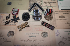 Lovely large lot of German WWI items in nice condition