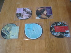 5  Picture discs Singels From the Red Hot Chili Peppers