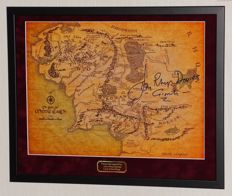 Lord of the RIngs - John Rhys-Davies (Gimli) originally hand signed photo - Premium Framed + Certificate of Authenticity