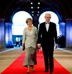 Herman Van Rompuy and his wife Geertrui Windels (former European Council President and Belgian Prime Minister) - Gastronomic lunch for two guests  in Michelin 2-star Restaurant Vrijmoed, Ghent (date to be agreed)