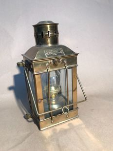 Maritime oil lamp made of brass - Cargo Light 1939