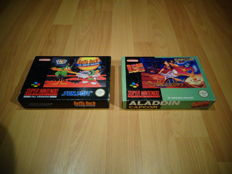 Snes Disney's Aladdin & Daffy Duck : The Marvin Missions