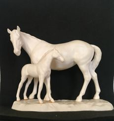 Beswick - Pair of horses - Porcelain