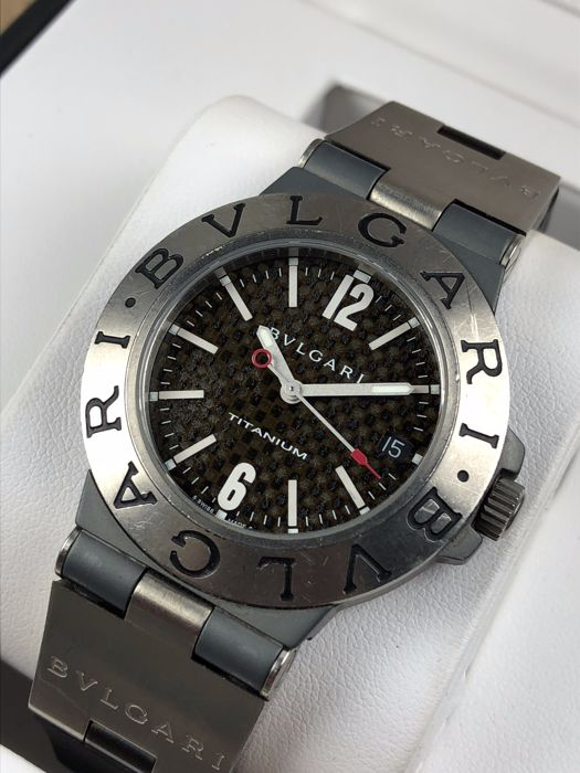 3f1c1db8fbf Bulgari Diagono Titanium Automatic ref  TI 38 TA - men s watch ...