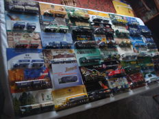 A variety of brands - brewery trucks, advertising trucks, some classic ones and rarities, in original packaging, 77 pieces