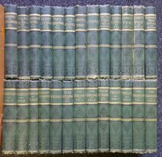 W.M. Thackeray - The Works of William Makepeace Thackeray - 26 volumes - 1878/1886