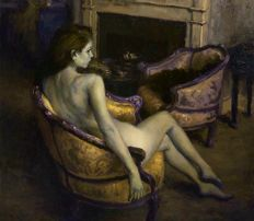 Dian Petrov - Seated Venus