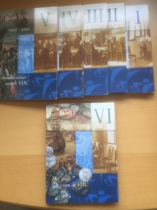 "The Netherlands - year packs/collections 2002 and 2003 ""400 years VOC"""