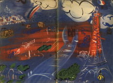 Typography; Raoul Dufy - Paris. Where What When How - 1953
