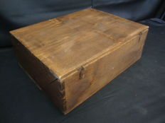 Book and Document Storage Box, Wood, Portugal, CA 1920