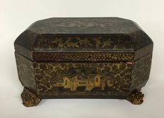 Mid 19th century China box