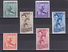 Kingdom of Italy 1915/1944 - 15 complete series and various single stamps and blocks of 4