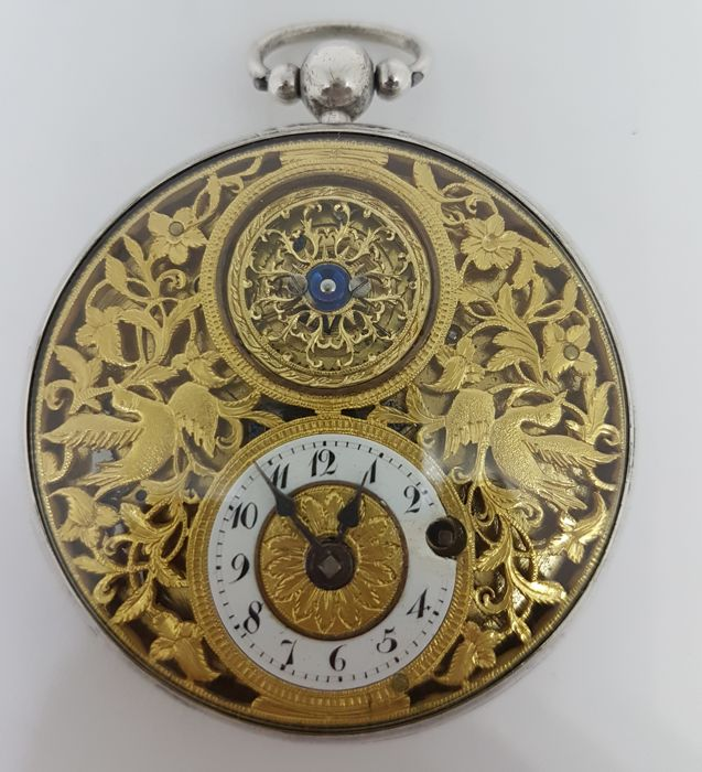 Jaquet Droz Verge Pocket Watch - PRE 1850