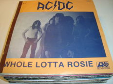 Great lot of 25 Rock Classics from the 70's: AC/DC / Emerson, Lake & Palmer / Kiss / Queen / Alice Cooper / ELO / Bryan Ferry / Ian Dury / Fleetwood Mac And Many More...