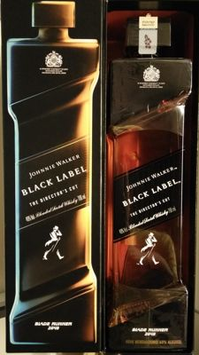 Johnnie Walker Blade Runner 2049 'The Director's Cut' 'Black Label'