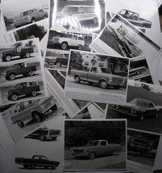 117 Press photos Ford Pick-ups & Vans, Lincoln and Mercury 1963-1989