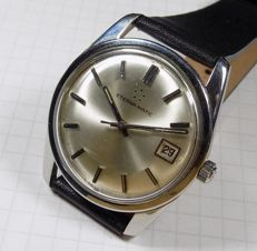 Eterna-Matic 1424UD - Iridescent Silver Dial - 1958 - Men's Wristwatch
