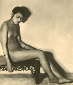 Heinz von Perckhammer (1895-1965) - Nude (China woman)