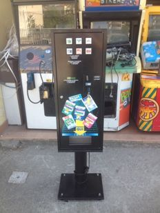 Candy and chewing gum vending machine
