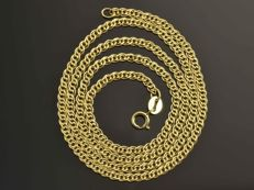 "18k Gold Necklace. Chain ""Nonna"" - 50 cm."