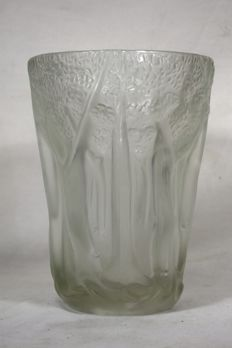 Josef Inwald - 'Borlac' - ground glass vase