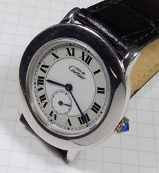 Cartier Ronde 1815 - Two Tone - 925 Silver - Unisex - 1990-1999