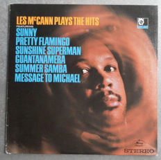 Les McCann Plays the Hits - 5 Ultra Rare Albums - Top Soul Blues Records  in a Unique Condition - 3 Records Right From the Record Company.