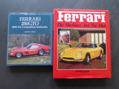 Books; Lot with 2 Ferrari Books - 1983/1989