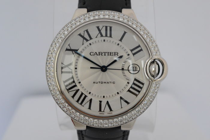 Wonderbaarlijk Cartier Ballon Bleu Diamonds XL - dames/heren horloge - 2010-heden RJ-45