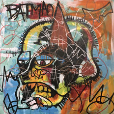 Dillon Boy - Basquiat vs. Batman