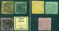 Germany 1849/1900 - Old German States - Collection of 113 classic stamps